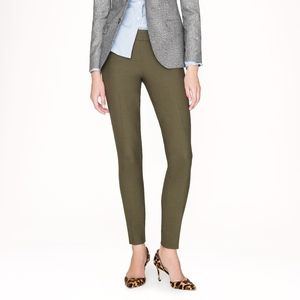 J.Crew MINNI Ankle Pant in Double-Serged Wool